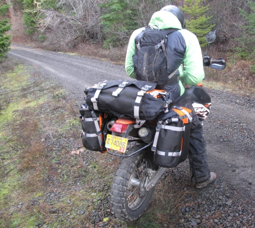 Mosko Moto 1-17-14 (13) dualsport pannier duffle ktm 690 enduro