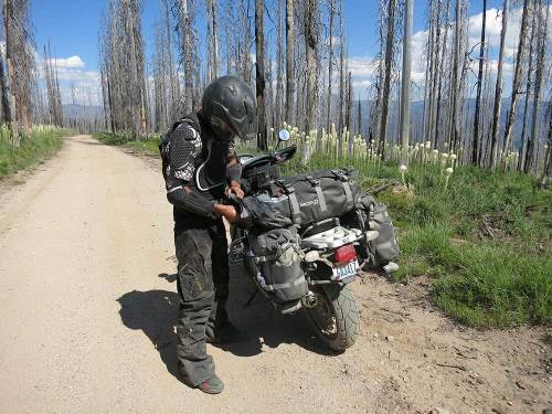 Mosko-Moto-Motorcycle-Soft-Bags-Dualsport-Offroad-Luggage-Soft Luggage-Pannier-Duffle-Saddlebag- KTM - BMW - Rackless - Reckless - 8-01-14-(2)