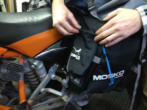 Mosko Moto-Motorcycle-Soft-Bags-Dualsport-Offroad-Adventure -Soft Luggage -Pannier-Duffle - KTM - BMW - KLR - Rackless - Reckless - Tank Bag - Adventure Jacket - Pants - Jersey 3-23-15 ( (45)