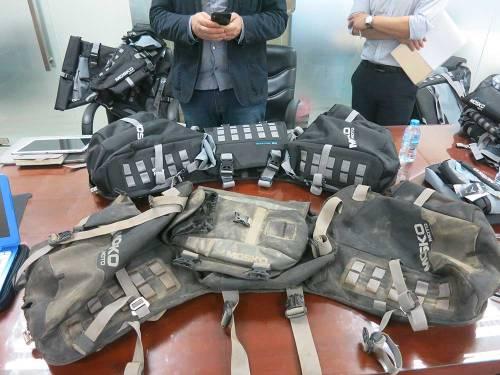 Mosko-Moto-Motorcycle-Soft-Bags-Dualsport-Offroad-Luggage-Soft Luggage-Pannier-Duffle-Saddlebag- KTM - BMW - KLR - Rackless - Reckless - Tank Bag - 3-3-14 (8)