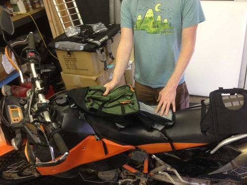 Mosko Moto-Motorcycle-Soft-Bags-Dualsport-Offroad-Adventure -Soft Luggage -Pannier-Duffle - KTM - BMW - KLR - Rackless - Reckless - Tank Bag - Adventure Jacket - Pants - Jersey 4-17-15(1 (12)