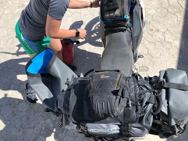 mosko-moto-motorcycle-soft-bags-dualsport-offroad-adventure-soft-luggage-pannier-duffle-ktm-bmw-klr-rackless-reckless-tank-bag-adventure-jacket-pants-jersey-BMW Atacama-5-18-18 ( (43)